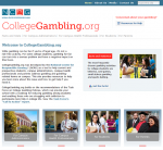 Collegegambling.org Main Page