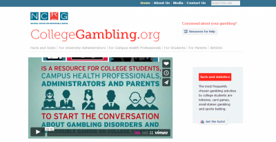 NCRG Launches College Gambling Awareness Campaign with several new resources